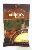 Miller's Natural Shredded Muenster Cheese 8 oz