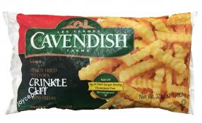 Les Fermes Cavendish Farms Crinkled Cut French Fries 32 oz