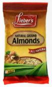 Lieber's Natural Ground Almonds 6 oz