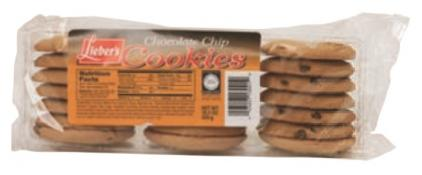 Lieber's Chocolate Chip Cookies 7 oz