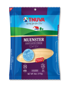 Tnuva Muenster Light Sliced Cheese Deli Cut 6 oz