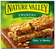 Nature Valley Oat 'N Honey Crunchy Granola Bars Box of 6