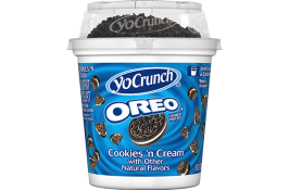 YoCrunch Low Fat Vanilla Yogurt  With Cookies and Cream Topping 6 oz