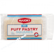 Mazor's Puff Pastry Squares Dough 12 oz