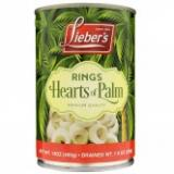 Lieber's rings hearts of palm 14 oz