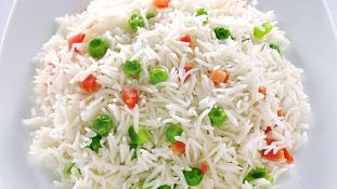 White Rice with Vegetables 6 oz