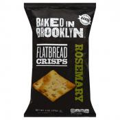 Aladdin Bakers Baked in Brooklyn Flatbread Crisps Rosemary 6 oz