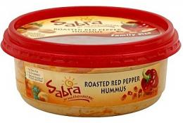 Sabra Roasted Red Pepper Hummus Family Size 17 oz