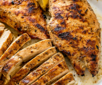 Grilled Chicken Cutlet - Passover Entrées
