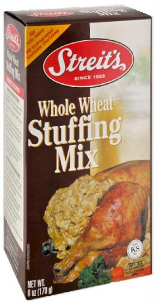 Streit's Whole Wheat Stuffing Mix 6 oz
