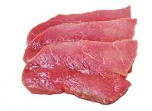 Veal Scaloppini Thinly Sliced 1.5lb Pack