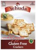 Yehuda Gluten Free Cracked Peppers Crackers 4.4 oz